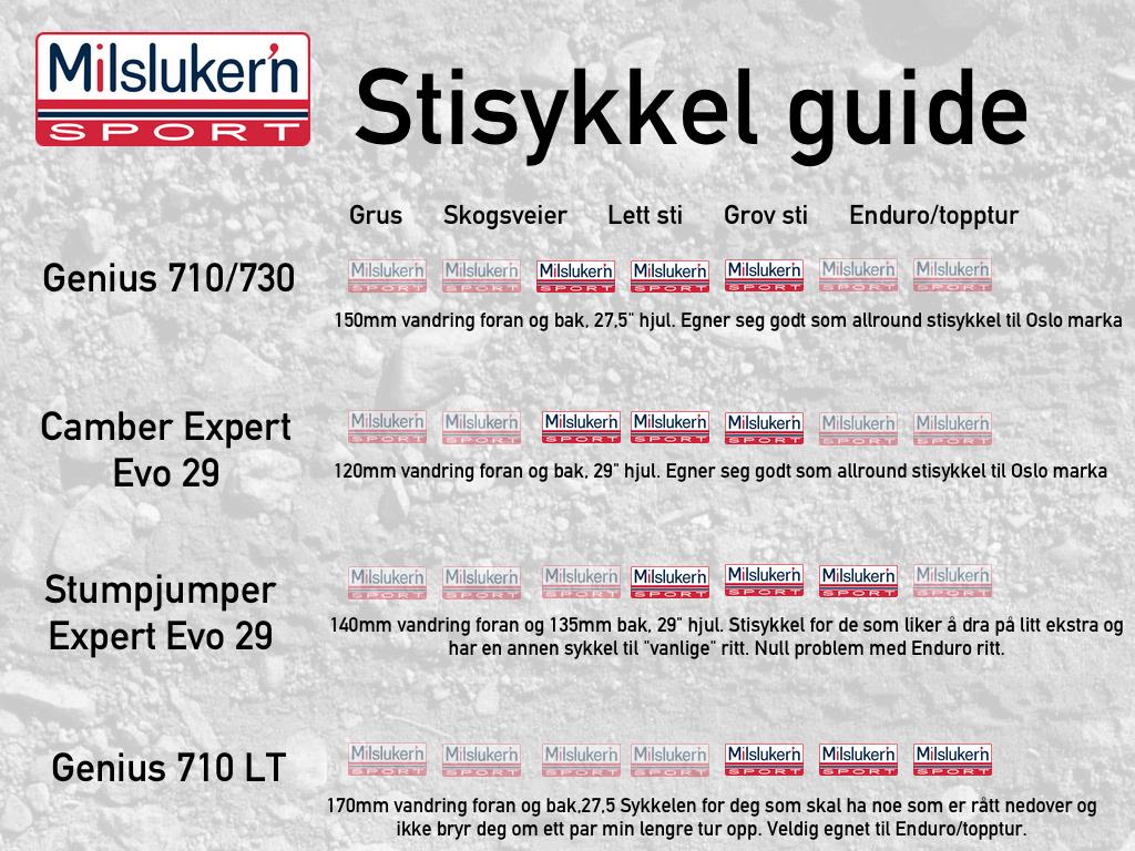 Stisykkel guide