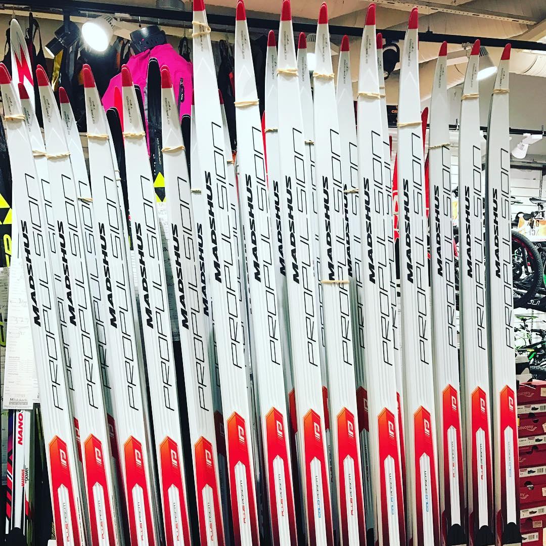 Endelig n er de nye stake skiene fra Madshus kommethellip