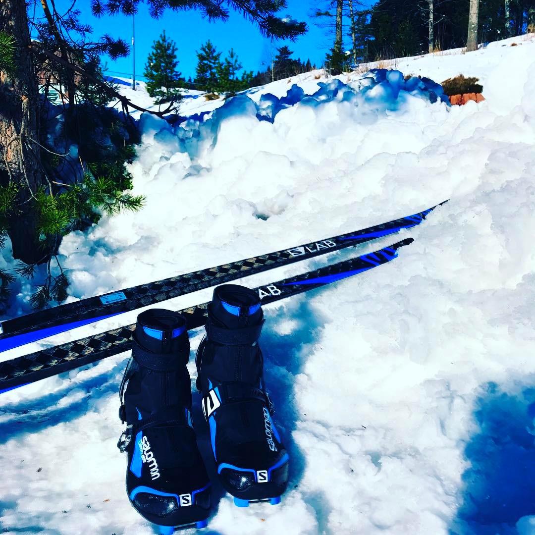 Test av Salomon slab Carbon skate ski og sko Superletthellip