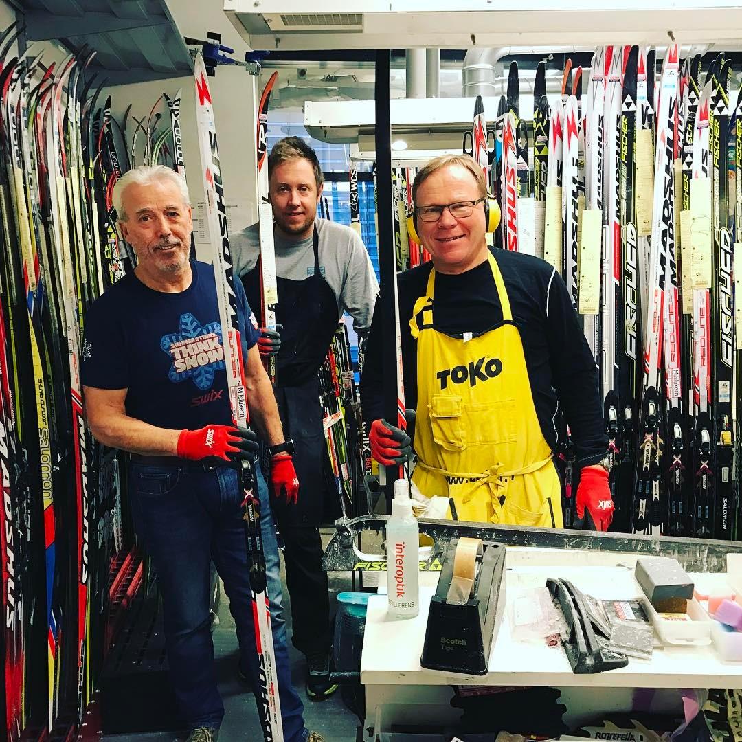 Her preppes det ski til Birkebeinerrennet 2017 swix toko superskihellip