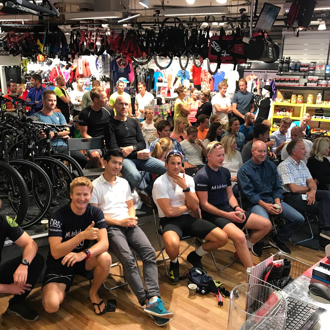 Fantastisk oppmte p rets kickoff skisesong 20172018 med team Milslukernhellip
