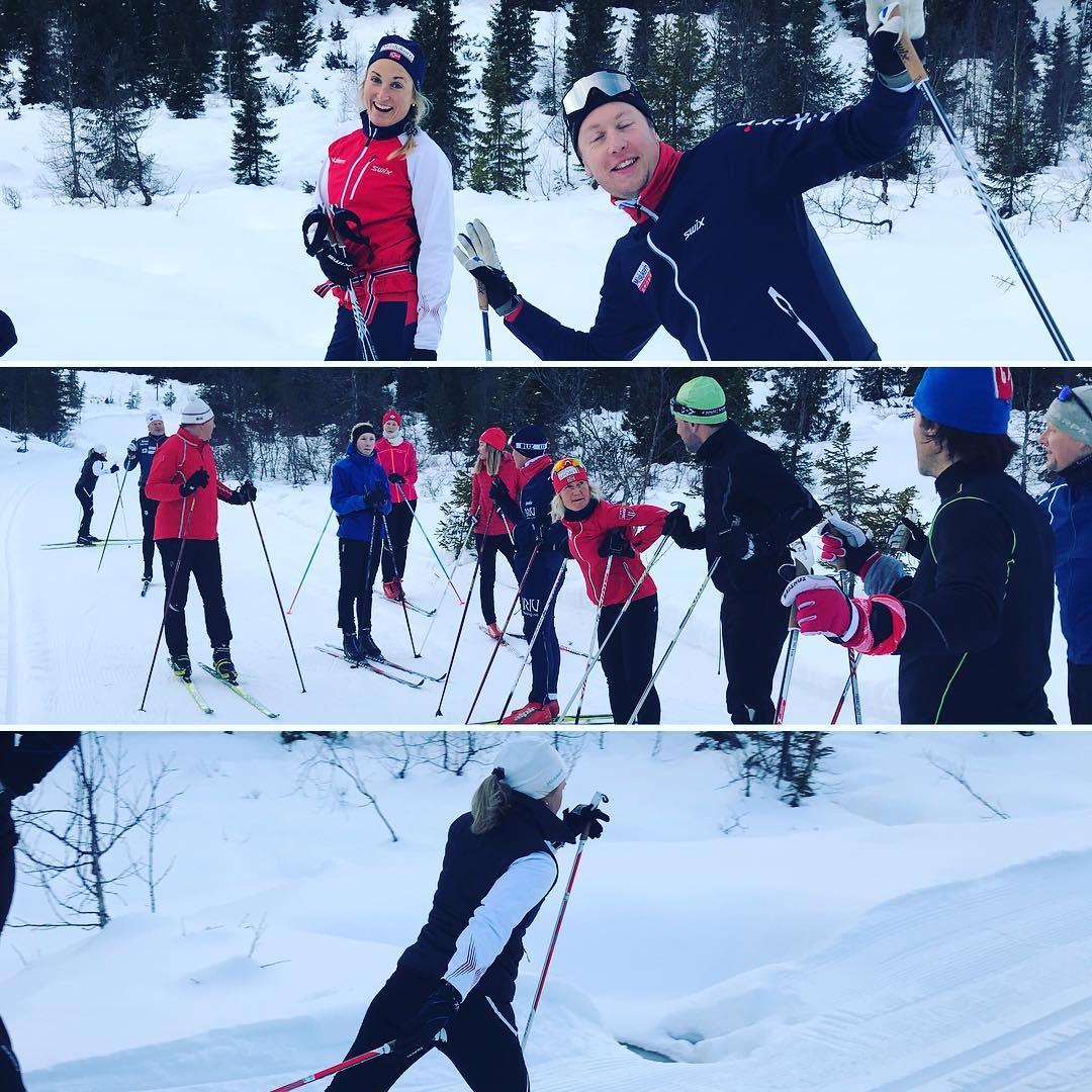 Milslukern skisamling p Skeikampen Nydelig fre strlende dag fornyde deltakerenhellip